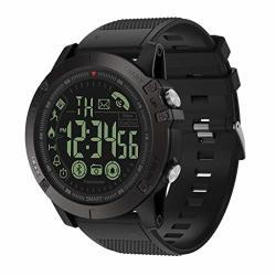 Islandselatest 2019 T1 Tact - Flagship Rugged Grade Super Tough Waterproof Smart Watch Black