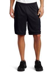 Champion Men's Long Mesh Short With Pockets Black XL