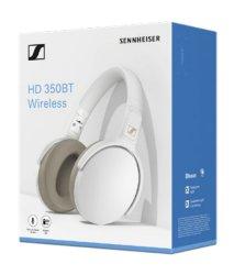 Sennheiser HD 350 Over-ear Bluetooth Headphones - White No Audio Cable