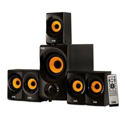 9e3b171b696adc Acoustic Audio AA5170 Home Theater 5.1 Bluetooth Speaker System 700W With  Powered Sub