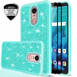official photos 5aed9 52df2 LeYi LG Stylo 4 Case LG Stylo 4 Plus Case LG Q Stylus 4 Glitter Case With  Tempered Glass Protector 2 Pack Bling Cute | R580.00 | Cellphone  Accessories ...