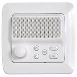 Ist Retro Intercom Room Station 3-WIRE Retrofit White RETRO-5R