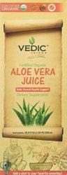 Vedic Juices Aloe Vera Juice Certified Organic 500 Milliliter Ml