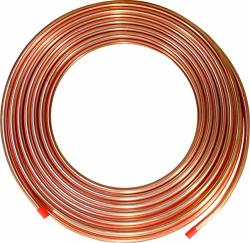 "Ics Industries - 1 4"" Od Copper Refrigeration Acr Tubing 50 Ft"