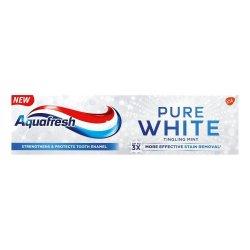 Aquafresh Pure White Toothpaste 75ML - Tingling Mint