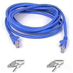 Belkin Snagless CAT6 Patch Cable RJ45M RJ45M 100 Blue A3L980-100-BLUS