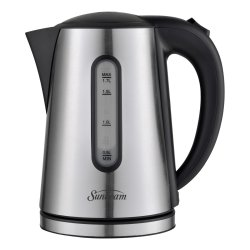 Sunbeam - Polished Stainless Steel Cordless Kettle