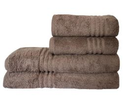 Dreyer Snag Free 485GSM Pebble Bath Sheet & Hand Towel Set - Pack Of 4