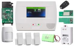 Smart Home Honeywell Lynx Touch L5210 Wireless Home Security Alarm And Automation 311 Kit With LTE-L57V Verizon LTE Communicator Wifi And Z-wave
