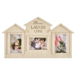 Decor - Home 3 Open Frame Crm Wash