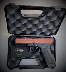 IMarksman Laser Training Pistol - Included Case - Full Weight Mag W Trigger Reset