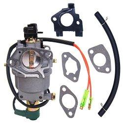 NIMTEK New Carburetor With Solenoid Insulator Plate For Honda GX390 188F  Engine 13HP Generator Parts Carb | R865 00 | Garden Accessories |  PriceCheck