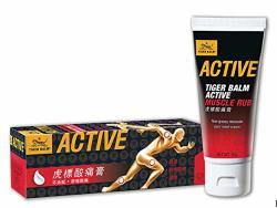 Tiger Balm Active Muscle Rub 60G Hong Kong Version