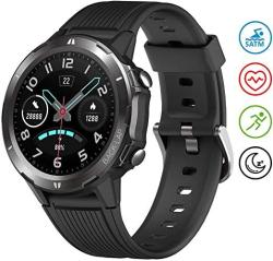 UMIDIGI Uwatch GT Smart Watch 5ATM Waterproof Fitness Tracker With Pedometer Heart Rate Monitor Sleep Tracker Ultra-long Battery Life Smartwatch Compatible With Iphone Samsung