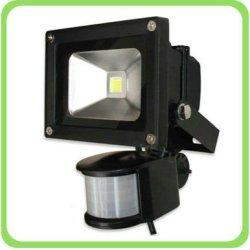 10 Watt Led Floodlight With Sensor 90