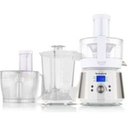 "Taurus Food Processor Lcd Display Stainless Steel Brushed 2.4L 800W ""processador De Cuinar"