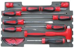 12PC Screwdriver & Hammer Set For Kmc All Weather Top Chest