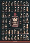 GinSanity - 50 Gins Before You Turn 50 A4 Poster