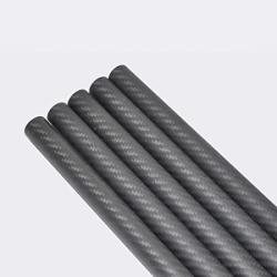 USA Abester 23MM Carbon Fiber Tube Od 23MM X Id 21MM X 1000MM 3K Matt Twill Roll Wrapped Model Rod Shaft Bearing Pole H