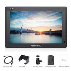 Feelworld FH7 Full HD 7 Inch Ips On Camera Field Monitor With Carrying Case Kit - Support 4K