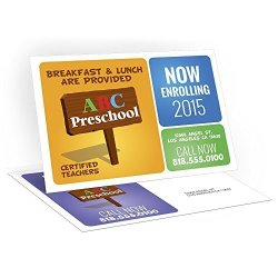 """Kachy Design - Custom Printed 4"""" X 6"""" Postcards - 16PT Thick - Glossy Or Matte - Professional 500 4""""X6"""" Postcards"""