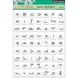 Penny Black Inc. Penny Black Decorative Rubber Stamps Kate's Alphabet
