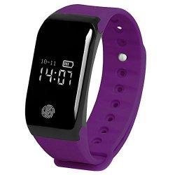 MBHB Kids Pedometer Smart Wristband Heart Rate And Sleep Tracker Sports Bracelet With Pressure Tem