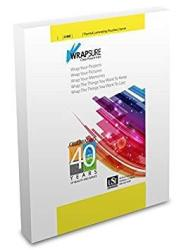 USI Wrapsure Thermal Hot Laminating Pouches sheets Menu Size 5 Mil 12 X 18 Inches Clear Gloss Pack Of 200