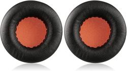 Kraken Earpads On-ear Jecobb Replacement Ear Pads With Protein Leather & Memory Foam Ear Cushion Cover For Razer Headphone Only Black orange