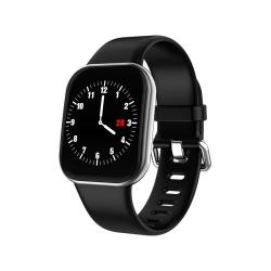 X16 1.3 Inch Tft Color Screen IP67 Waterproof Bluetooth Smartwatch Support Call Reminder Heart Rate Monitoring blood Pressure Monitoring Sleep Monitoring Silver Grey