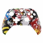 XBOX One S Controller Front Faceplate Art Series Sticker Bomb