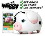 Wiggy Piggy Bank Spotty : Smart Speaking Piggy Bank And Task Tracker