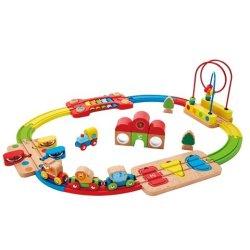 Rainbow Puzzle Railway
