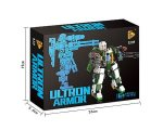 Panlos Building Set - Ultron Armor Titan Cannon