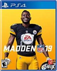 Sony PS4 Game - Madden Nfl 19 Retail Box No Warranty On Software
