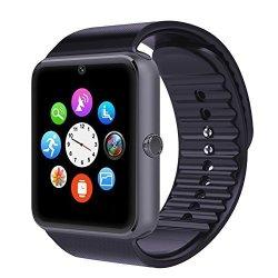 Bluetooth Smart Watch Vrunow All In 1 Wrist Watch Phone Wristwatch Unlocked Cell Phone Sweatproof Ba