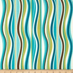 Tempro Fabrics Tempo Fabric Terrasol Indoor outdoor Wave Fabric By The Yard Peacock