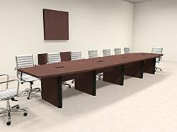 Modern Boat Shaped 18' Feet Conference Table OF-CON-CP22