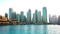 Home Comforts Laminated Poster Skyline Skyscrapers City Architecture Dubai Tower Poster Print 24 X 36