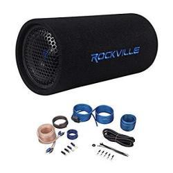 "Rockville Jeep Wrangler 87-06 6.5"" Powered Subwoofer Sub Bass TUBE+MP3 Input+amp Kit"