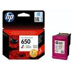 HP - 650 Tri-colour Inkjet Cartridge