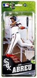 McFarlane Toys Mlb Chicago White Sox Sports Picks Series 33 Jose Abreu Action Figure Alternate Home Uniform