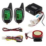 Easyguard EM208-2 2 Way Lcd Display Motorcycle Alarm System With Remote Engine S