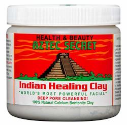 Aztec Secret - Indian Healing Clay - 1 Lb. Deep Pore Cleansing Facial & Body Mask The Original 100% Natural Calcium Bentonite Clay New Version 2