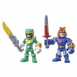 Hasbro Playskool Heroes Power Rangers Green Ranger And Ninjor