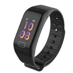 CoLor Screen F1S Fitness Tracker Blood Pressure Smart Bracelet Reminder