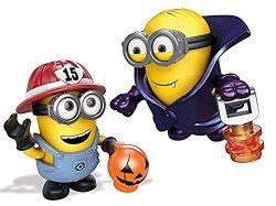 Mattel Mega Bloks Despicable Me Halloween Micro Action Figure Styles May Vary