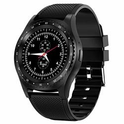 SMART WATCH 1.3 Touch Screen Smartwatch Fitness Tracker Step Counter Activity Tracker Waterproof Sport Watch For Women And Men Black