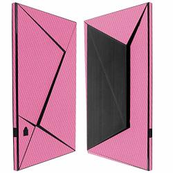 Skinomi Pink Carbon Fiber Full Body Skin Compatible With Nvidia Shield Tv 2015 Full Coverage Techskin Anti-bubble Film