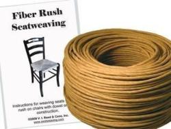 Fiber Rush Kit 5 32 Kraft Brown With Instruction Booklet